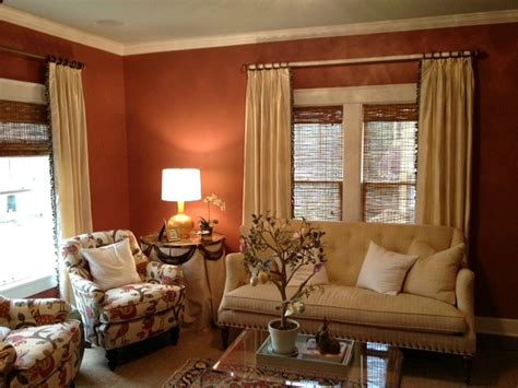 the terracotta wall color for the home