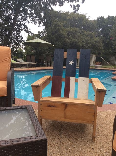 ana white texas flag adirondack chair diy projects