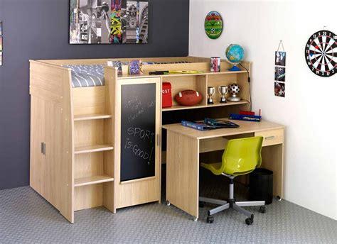 bed desk combo for small children s bedroom