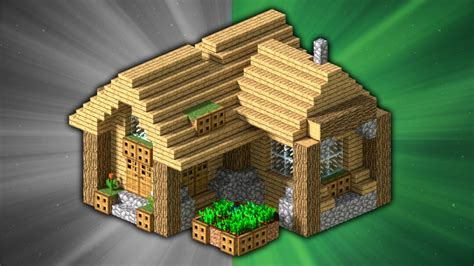 create a house how to build a survival house minecraft