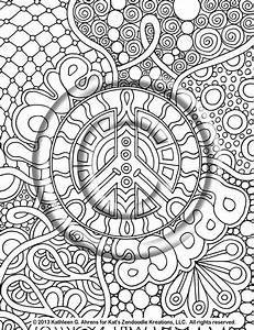 Hippie Animals Coloring Pages Hippie Animals Coloring Book By