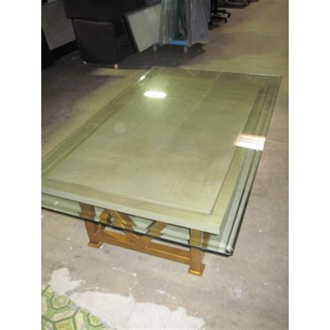 used glass stone coffee table used tables used
