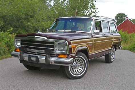 jeep grand wagoneer 1988 jeep grand wagoneer for sale 1847123 hemmings