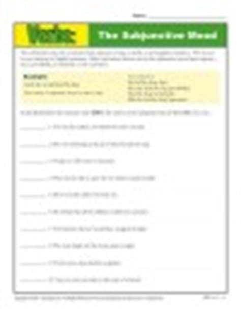 mood worksheets indicative imperative interrogative conditional and subjunctive