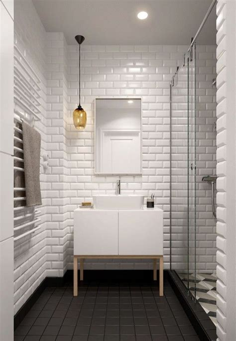 White Bathroom Tile Ideas by 20 White Brick Wall Ideas To Change Your Room Look Great