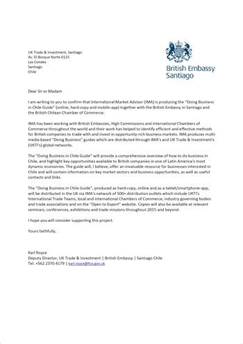 letters  support  business  international