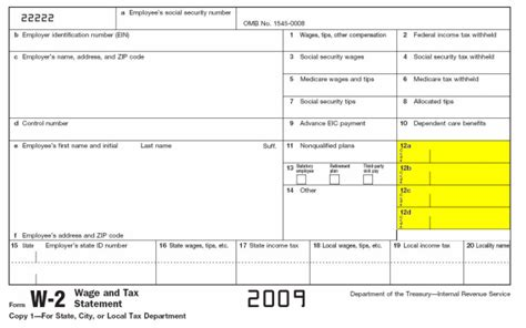 Exemptions On W-2 Form