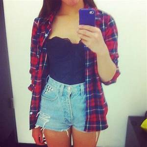 41 best flannel and crop top images on Pinterest | Flannels Casual wear and My style