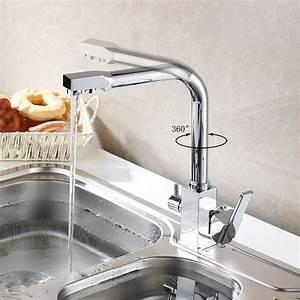 Purificateur D Eau Robinet : robinet de cuisine chaude et froide purificateur d 39 eau ~ Premium-room.com Idées de Décoration