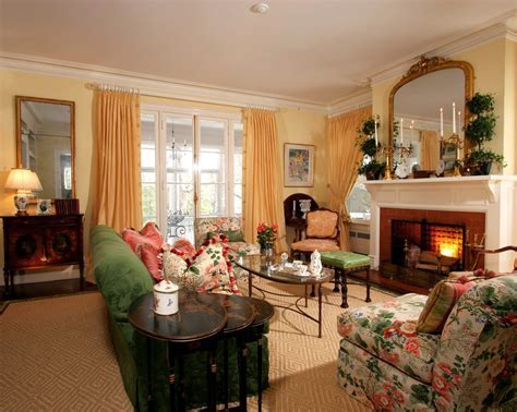 Impressive French Country Design Living Room Traditional