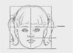 Drawings: CHILDREN'S FACIAL PROPORTIONS