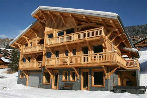chalet les trois canards chatel ski chalet for catered