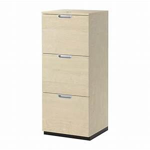 GALANT File cabinet - birch veneer - IKEA