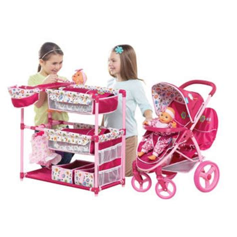 Malibu Doll Stroller Activity Center Playset Best