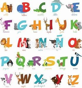Mots Avec H : zoo de dessin anim mignon alphabet illustr avec dr les animaux alphabet espagnol clipart ~ Medecine-chirurgie-esthetiques.com Avis de Voitures