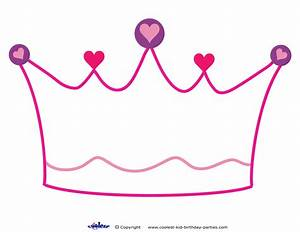printable crown decoration coolest free printables With free printable princess crown template