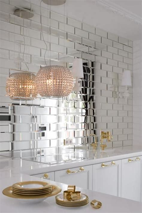 Bathroom Mirror Tiles by Mirrored Subway Tiles This Would Be Pretty In A Bathroom