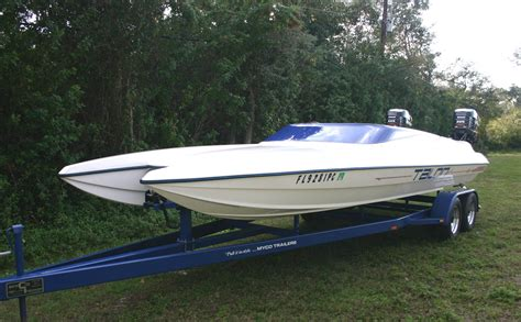 Boat Hull On by 1992 Talon 22 Special Tunnel Hull Sold The Hull