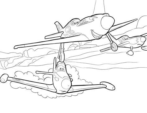 Kolorowanki Z Bajki Samoloty Do Wydruku