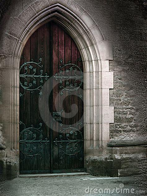 magic door stock photo image