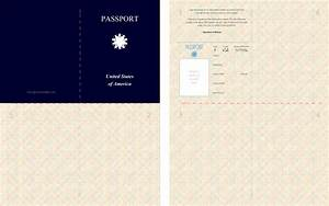 free kid39s printable passport great for playing spies With fun passport template