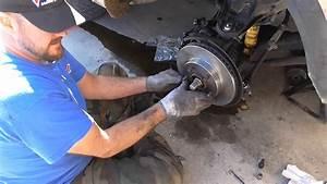 Chevy Blazer Brake Rotor Change