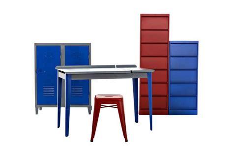 bureau tolix bureau clapet métal coloré tolix mobilier design en ligne