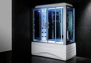 Baignoire Douche Balneo : baignoire douche hammam omega 170 thalassor fabricant ~ Melissatoandfro.com Idées de Décoration