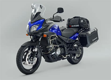 2013 Suzuki V Strom 650 by 2013 Suzuki V Strom 650 With Voyager Option Accessory Pack