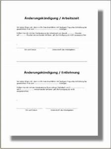 Kündigungsfrist Berechnen Arbeitgeber : nderungsk ndigung muster lohn nderung oder arbeitszeit nderung ~ Themetempest.com Abrechnung