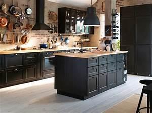 Cuisine Industrielle Ikea : cuisine ikea industrielle cuisine en image ~ Dode.kayakingforconservation.com Idées de Décoration
