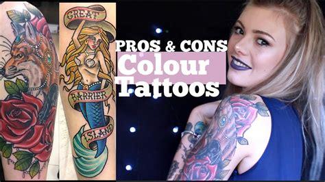 colour  blackgrey tattoos pros  cons youtube