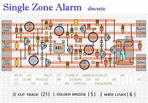 How To Build This Simple Single Zone Transistor Alarm Project