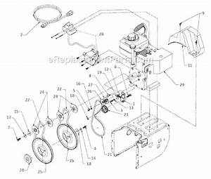 Yard Machines 31ae640f000 Parts List And Diagram