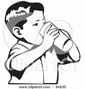 Drinking Color Clipart