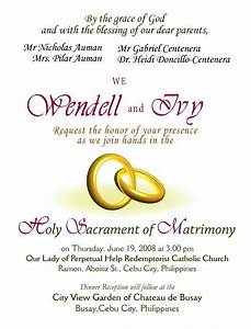 Wedding invitations wording samples wedding invitation for Wedding invitations layout examples