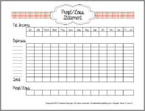Free Printable Profit and Loss Statement