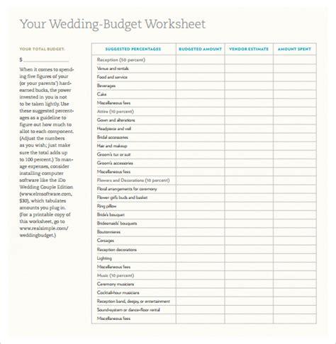 wedding template  excel  psd indesign