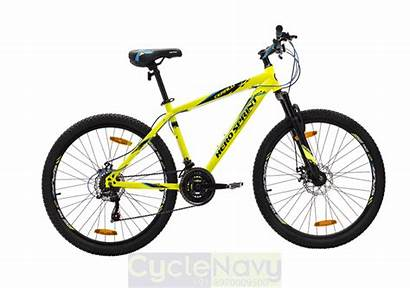 Bicycle Yellow Hero Sprint 24t Gear Cycles