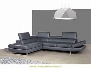 Canape Angle Cuir Conforama : spectaculaire conforama canap cuir angle artsvette ~ Teatrodelosmanantiales.com Idées de Décoration