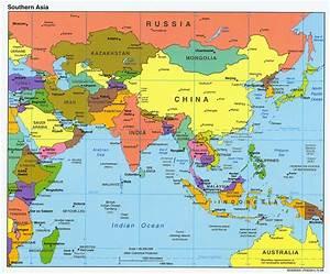 Map of Asia | Skipton Studies of Asia