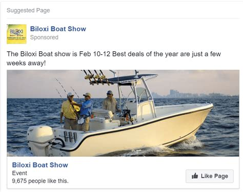 Biloxi Boat Show by Biloxi Boat Show Ad The Focus