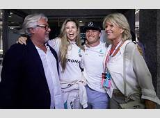 F1 world champion Nico Rosberg's party goes with a swing