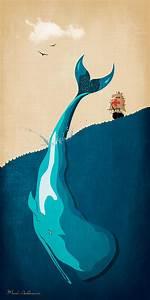 Moby Dick 2 Digital Art by Mark Ashkenazi