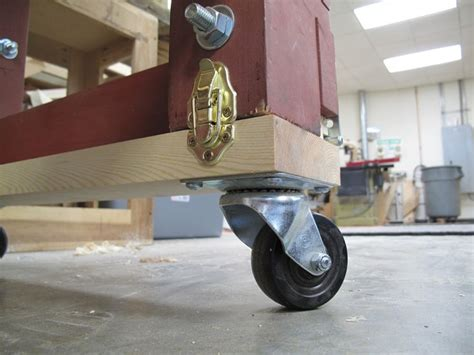 mobile base mark ii small woodworking projects