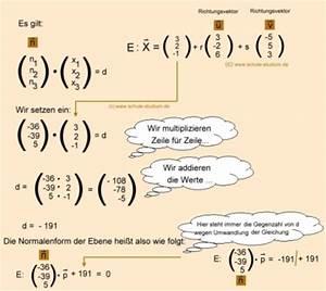 Vektorprodukt Berechnen : analytische geometrie und lineare algebra normalenvektor n einer ebene berechnen ~ Themetempest.com Abrechnung