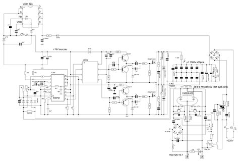switch mode arc inverter welder schematic page 5