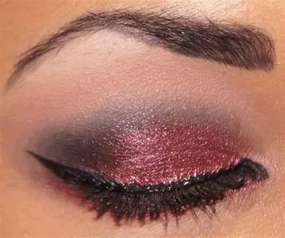 Smokey Mineral Plum Eyeshadow Inika Eyes Autumn