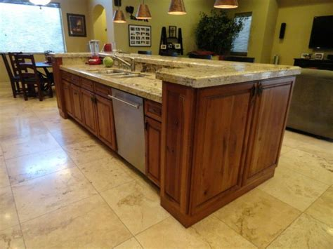 kitchen island with sink and dishwasher and seating kitchen island with sink and dishwasher seating dimensions