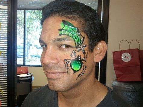 17 Best Images About Facepainting Spiders & Webs On